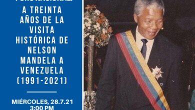 Photo of A Treinta años de la visita histórica de Nelson Mandela a Venezuela (1991-2021)
