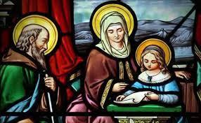Photo of San Joaquín y santa Ana, los padres de la Virgen y abuelos de Jesús