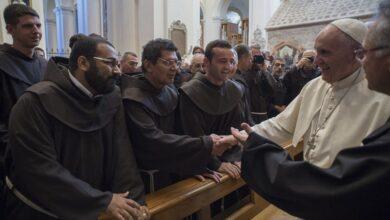 Photo of Papa a los franciscanos: «Enfrenten sus retos venciendo la ansiedad y el miedo»
