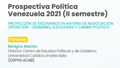 Photo of Foro Prospectiva Política Venezuela 2021 (II Semestre) | UCAB