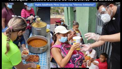 """Photo of Adolfredo Pérez, el cura que mitiga el hambre de """"sus ovejas"""" en medio de la pandemia"""