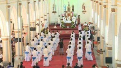 Photo of De tierra de misión a evangelizadora: Vinh, pequeña diócesis de Vietnam, ordena 34 sacerdotes