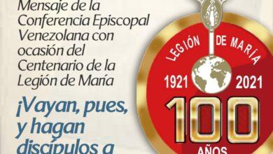 Photo of 100 años de la Legión de María: mensaje de los obispos