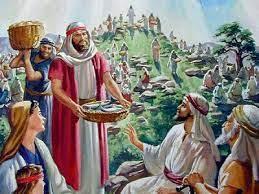 Photo of Comieron unos cinco mil hombres, sin contar mujeres y niños..
