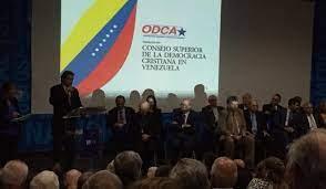 Photo of Consejo Superior de la Democracia Cristiana para Venezuela: Ante la nueva farsa electoral