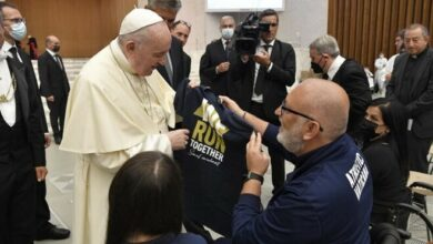 Photo of El Papa agradece el «testimonio de esperanza y coraje» de los atletas paralímpicos
