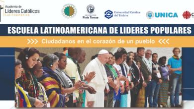 Photo of Lanzamiento internacional de la I Escuela de Líderes Populares de la Iglesia Católica