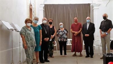 Photo of Mons. Conesa: «las religiones son y deben ser constructoras de la fraternidad y de la paz entre todos los seres humanos»