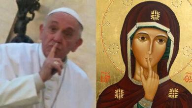 Photo of ¿Por qué el Papa es tan devoto de la Virgen del Silencio?