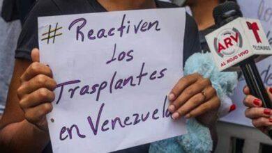 Photo of Alertan que 960 personas esperan por un trasplante en Venezuela