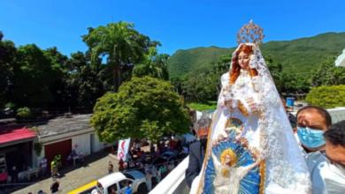 Photo of Así fue la tradicional bajada de la Virgen del Valle