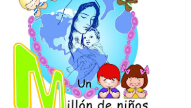 """Photo of """"Un Millón de Niños Rezando el Rosario por la Unión yla Paz"""""""